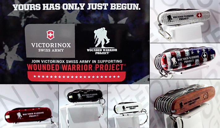 Ножи Victorinox Wounded Warrior Project