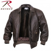 Куртка  кожан. «A2 leather flight jacket», цвет «brown»
