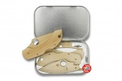 Нож Spyderco Wooden Kit Dragonfly WDKIT1
