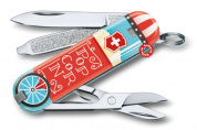 "Нож брелок Victorinox  ""Let It Pop!"" 0.6223.L1910"